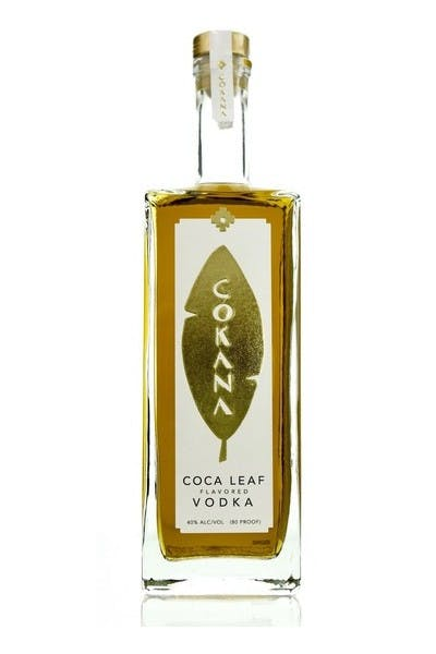 Cokana Coca Leaf Vodka