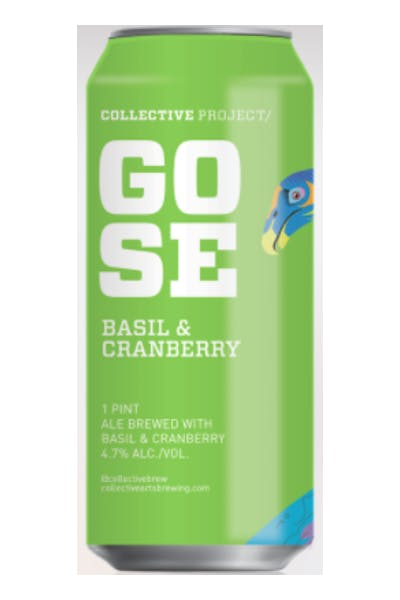 Collective Arts Basil & Cranberry Gose