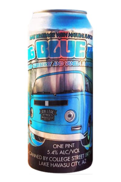 College Street Big Blue Van