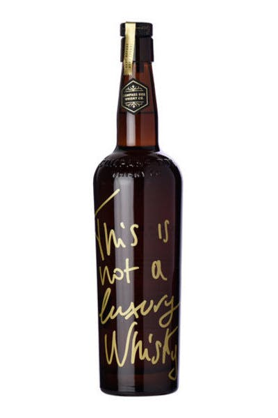 Compass Box Not A Luxury Whisky