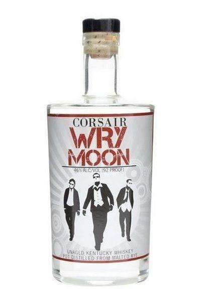 Corsair Wry Moon Unaged Rye Whiskey
