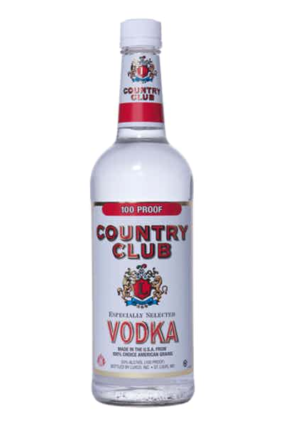 Country Club Vodka (100 Proof)