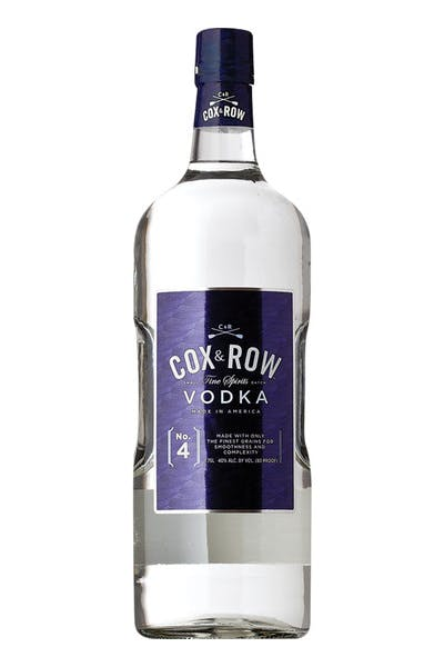 Cox & Row Vodka