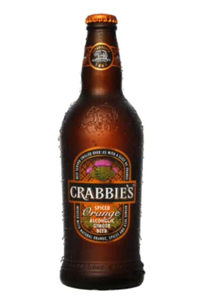 Crabbie's Orange Alcoholic Ginger Beer