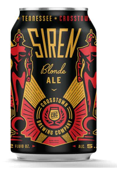 Crosstown Brewing Siren Blonde Ale