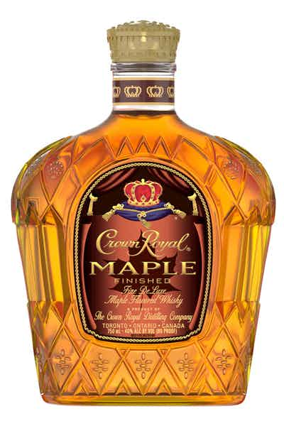 Crown Royal Maple Finished Maple Flavored Whisky