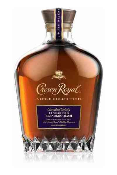 Crown Royal Noble Collection 13 Year Old Blenders Mash Whiskey