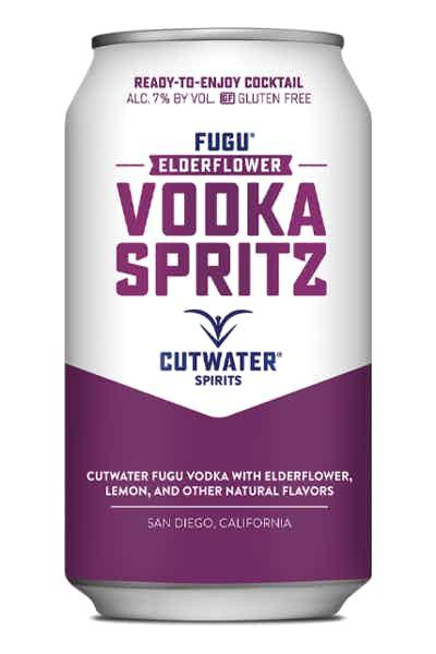 Cutwater Elderflower Vodka Sprits