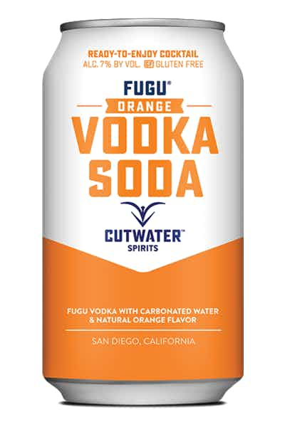Cutwater Orange Vodka Soda