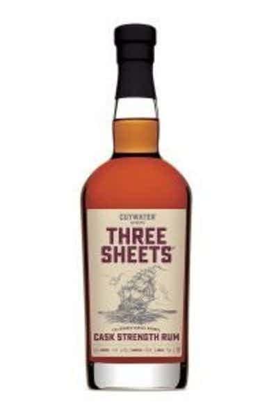 Cutwater Cask Strength Rum
