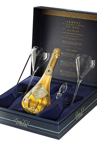 De Venoge Louis Xv Gift W 2 Glasses