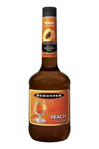 DeKuyper Peach Flavored Brandy
