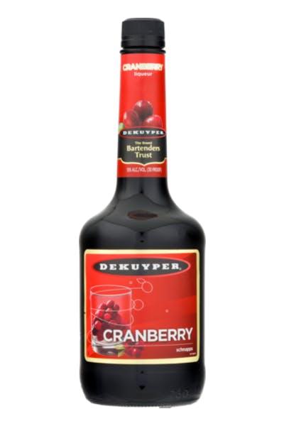 DeKuyper Cranberry Schnapps Liqueur