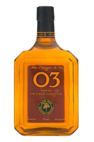 John DeKuyper & Sons 03 Premium Orange Liqueur