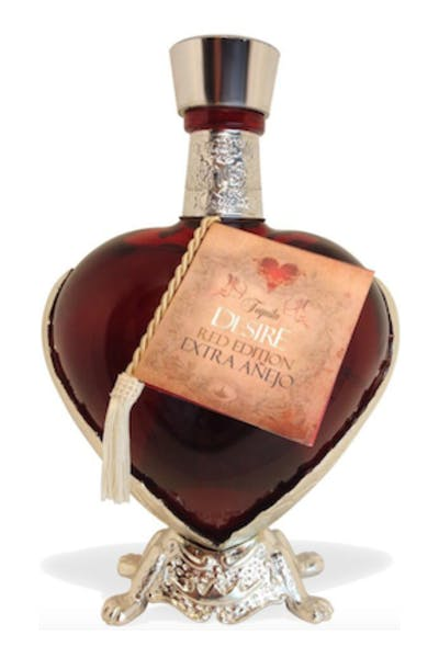 Desire Red Edition Extra Anejo Tequila