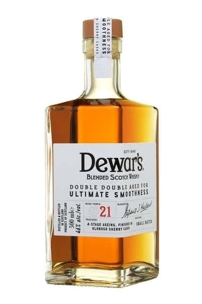 Dewar's Double Double Aged Blended Scotch Whisky 21 Year