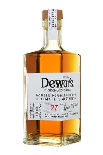 Dewar's Double Double Aged Blended Scotch Whisky 27 Year