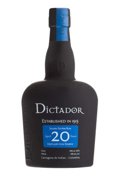 Dictador 20 year Rum