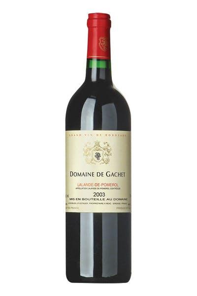 Domaine De Gachet Pomerol 2003