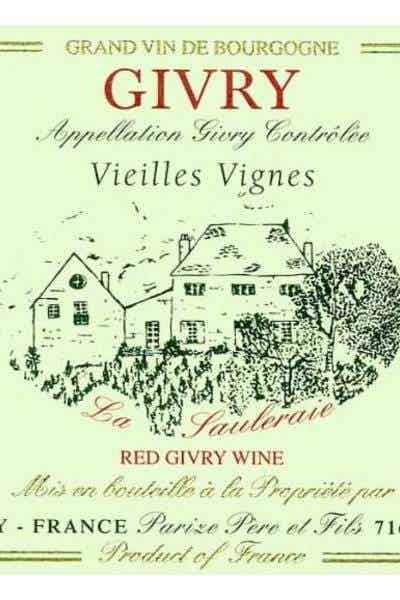 Domaine Parize Pere et Fils Givry Pinot Noir