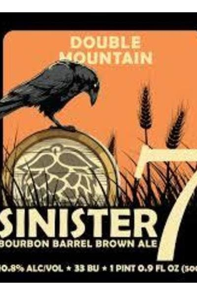 Double Mountain Sinister 7 Bourbon Aged Brown Ale