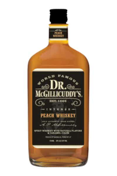Dr. McGillicuddy's Peach Whiskey