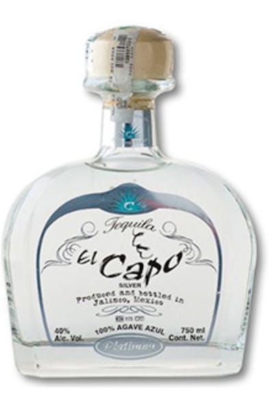 El Capo Tequila Platinum