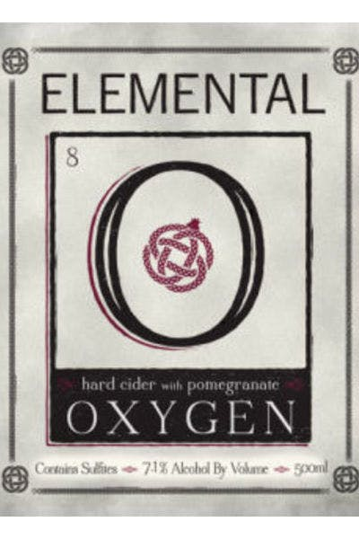 Elemental Oxygen Pomegranate Cider