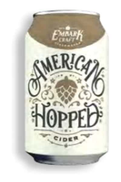 Embark American Hopped Cider