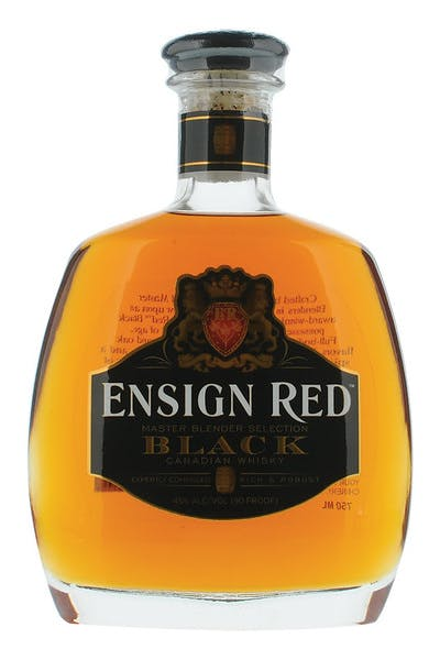 Ensign Red Black