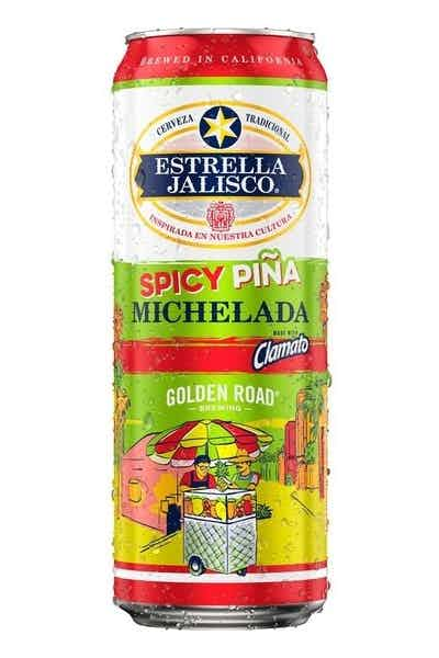 Estrella Jalisco / Golden Road Brewing Spicy Piña Michelada
