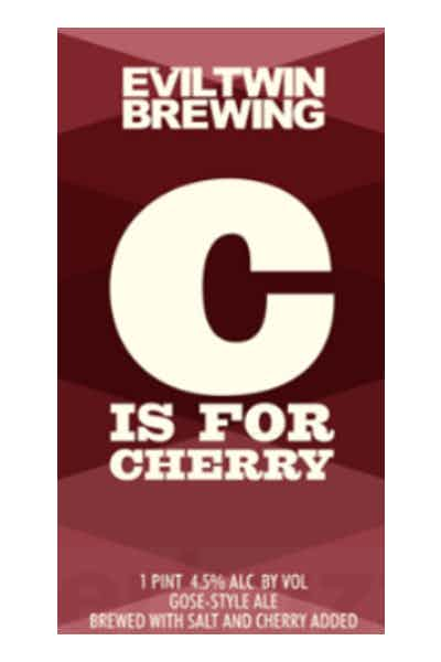 Evil Twin C Is For Cherry Gose