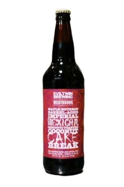 Evil Twin Maple Bourbon Barrel-Aged Imperial Mexican Biscotti Toasted Coconut Cake Break