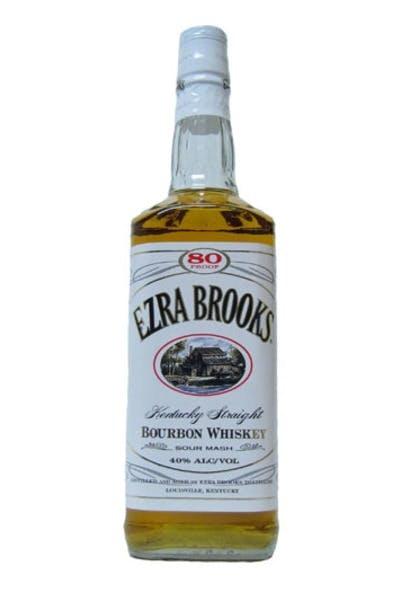 Ezra Brooks White Label Bourbon