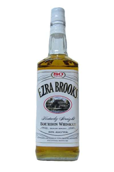 Ezra Brooks White Label Bourbon