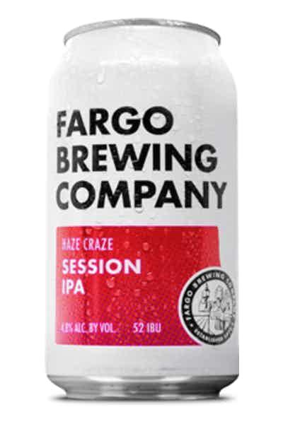 Fargo Brewing Haze Craze Session IPA