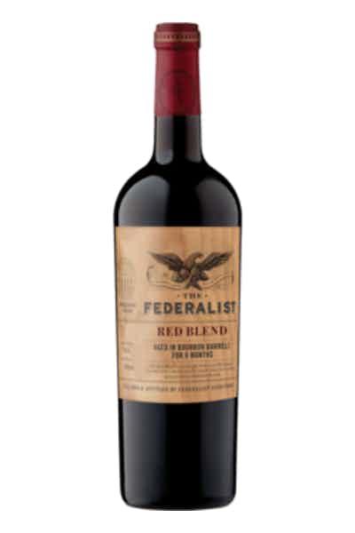 The Federalist Bourbon Barrel Aged Red Blend