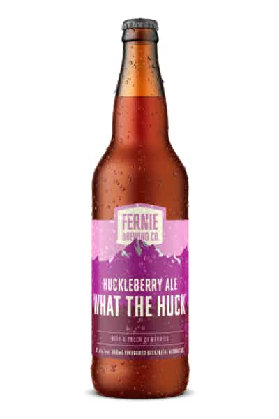 Fernie What The Huck Huckleberry Ale