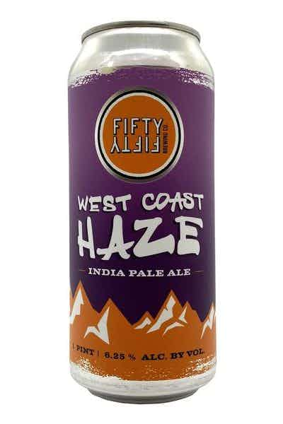 FiftyFifty Brewing Co West Coast Haze Hazy IPA
