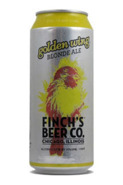 Finch's Beer Co. Golden Wing Blonde