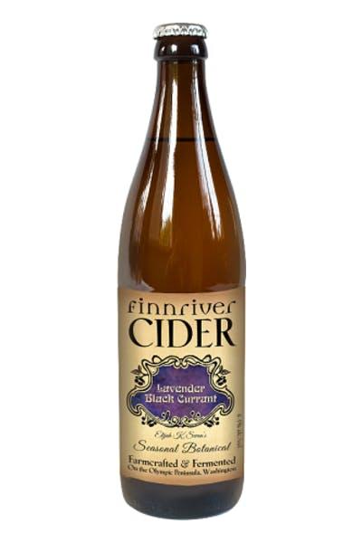 Finnriver Lavender Black Currant Cider