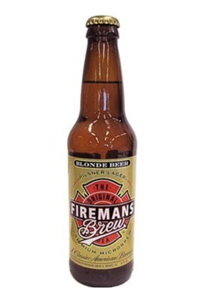 Firemans Blonde Beer