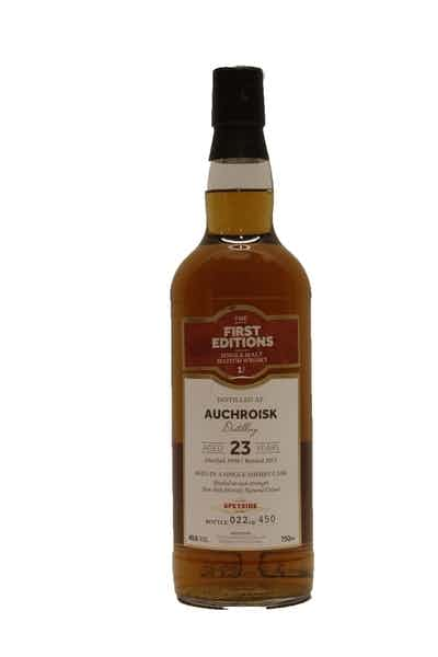 First Editions Auchroisk 23 Year