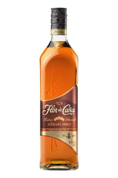 Flor de Caña 4 Year Old Gold Rum Añejo Oro