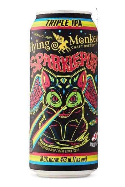 "Flying Monkey ""Sparkle Puff"" Triple IPA"