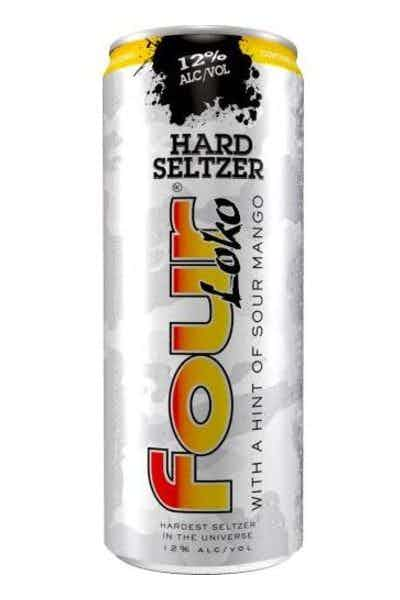 Four Loko Hard Seltzer with hint of Sour Mango