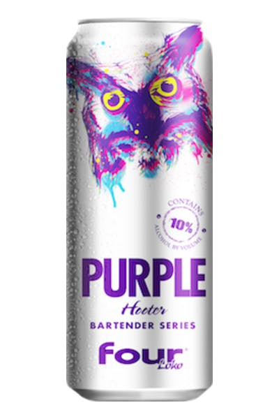 Four Loko Purple Hooter