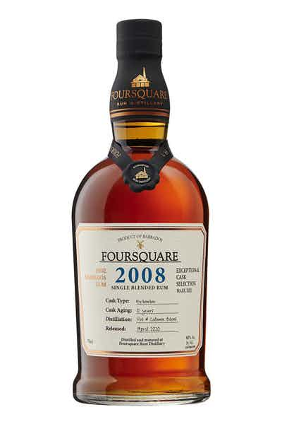 Foursquare 2008 Cask Strength Rum