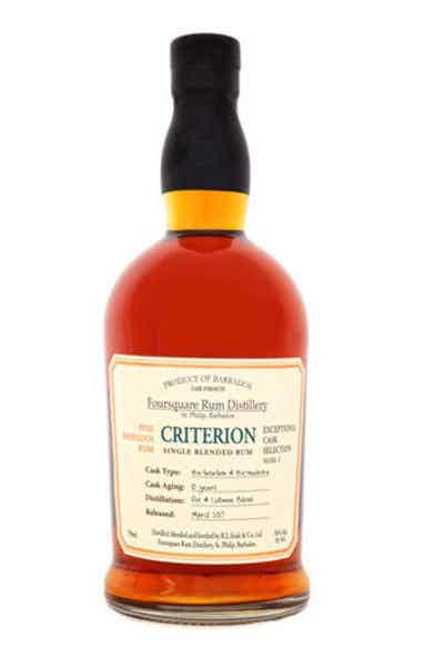 Foursquare Criterion Rum