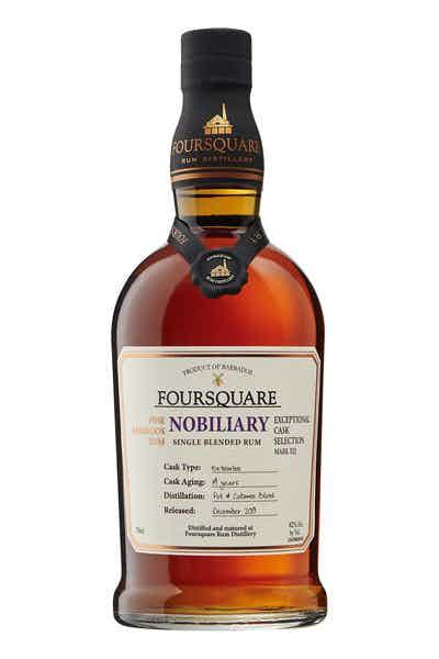Foursquare Nobiliary Cask Strength Rum